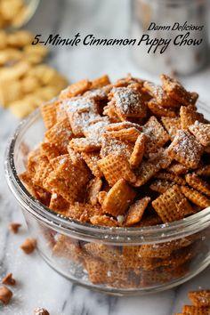 Cinnamon Puppy Chow