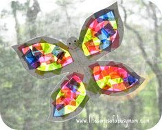 Life Songs Of A Busy Mom: More Sun Catcher Fun