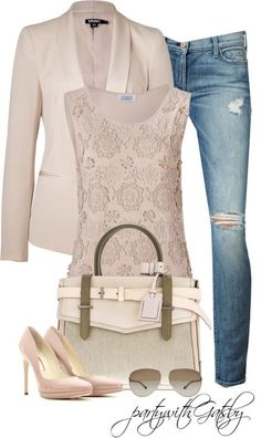 Trendy Spring Polyvore Combinations / fashionsy.com