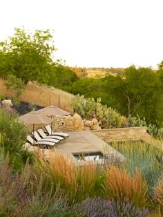 Landscape design by Jeffrey Gordon Smith Landscape Architecture, Los Osos, CA (seen in #Sunset 4/2011)