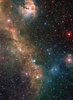 NGC 2327 And The Seagull Nebula IC 2177 [DSS-WISE] Giuseppe Donatiello on January 25, 2015 @ Oria (Brindisi) - Italy
