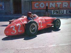 Automobile - maserati 250f juan manuel fangio monte carlo 1957