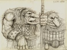 Mountain Troll by Kimsuyeong81.deviantart.com on @deviantART  https://www.facebook.com/SuYeongArt https://www.instagram.com/suyeongart