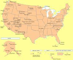 National Parks Checklist Map Cabins Camps Cottages - Us national parks map road trip