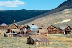 Bodie, Ghost Town, California is a very haunted place. I have had the pleasure of going there with psychics and confirming a presence in the old church and at the cemetery (Boot Hill). It was a violent and terrible mining town with a murder a day. Now a state park its a great place for ghost hunting! Bring your tools and ask the rangers nicely, and many times they will tell you some great accounts of meeting the ghosts. the old Brothel is also very haunted. Its open as a museum now.