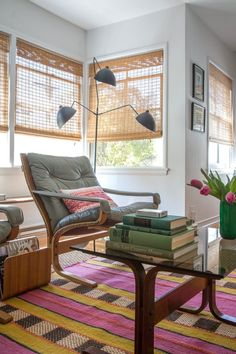 Ideas for Using Bamboo Blinds Indoors & Out | Apartment Therapy