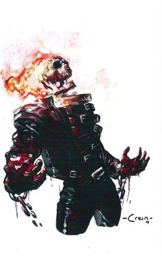 Recently found out that Ghost Rider is actually Marvel. I'm kinda late to find stuff out Comic Book Characters, Marvel Characters, Comic Character, Comic Books Art, Comic Art, Marvel Comics Art, Marvel Vs, Marvel Heroes, Captain Marvel