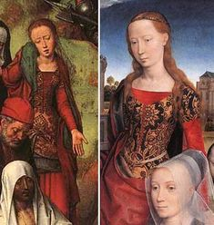 Hans Memling, The passion triptych and the Moreel family altarpiece 1491 & 1484 #sca