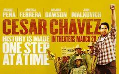 #CésarChávez luchador por los derechos de los trabajadores de Diego Luna