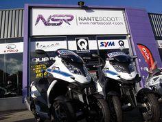 Le Police municipale de Nantes est équipée de 2 maxi-scooters Quadro 350S