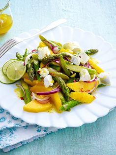 Spargel-Mango-Salat Rezept