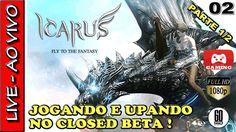 RIDERS OF ICARUS ONLINE - GAMEPLAY do CLOSED BETA do MMORPG da NEXON | L...