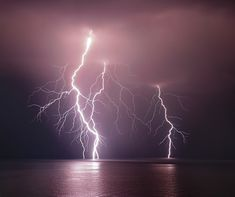 1X - Thunderbolt over the sea by nini_filippini