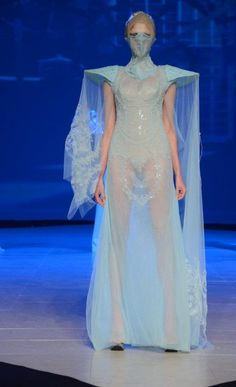 FURNE ONE BY AMATO COUTURE SPRING 2012 HAUTE COUTURE COLLECTION - Fashion - Zimbio