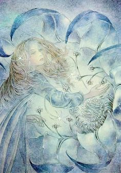 Beautiful, ethereal, mystical, spiritual and visionary art by Sulamith Wulfing an illustrator from the golden age Art And Illustration, Art Illustrations, Art Visionnaire, Kunst Online, Nature Spirits, Photo D Art, Art En Ligne, Visionary Art, Online Art Gallery