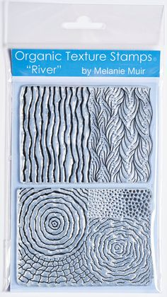 Organic Texture Stamp/Sheet  'RIVER' by MelanieMuir on Etsy