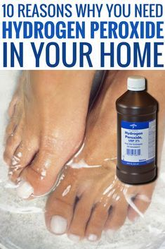 The uses of Hydrogen peroxide are not just limited to disinfectants, but it can be used in several other ways to benefit yourself. Here are 10 simple life hacks that you should remember.Excellent DIY hacks are offered on our internet site. look at th Household Cleaning Tips, House Cleaning Tips, Diy Cleaning Products, Cleaning Solutions, Spring Cleaning, Cleaning Carpets, Bathroom Cleaning Hacks, Deep Cleaning Tips, Household Products