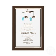 Motorcycle Baby Shower Invitation by DesignsByGeorgia