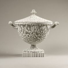 Michael Eden: The Wedgwoodn't Tureen, 2008 Art Fair, French Antiques, Contemporary Art, Knowledge, Porcelain, Porcelain Ceramics, Modern Art, Contemporary Artwork, Tableware