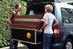These European products turn your basic van into a comfortable camper. Now they just have to come to the U.S.