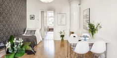 Un apartamento con típico estilo nórdico. | Decorar tu casa es facilisimo.com