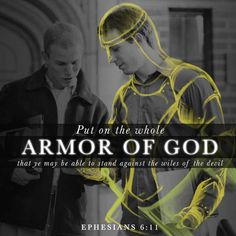 Put on the Armor of God!