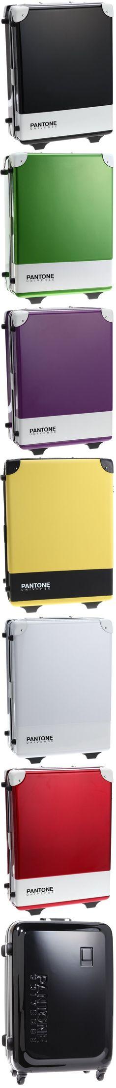 PANTONE Suitcases: Travel Companions For Quintessential Designers