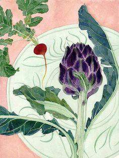 radish and artichoke by Mango Frooty, via Flickr