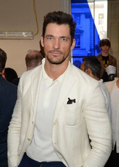 David Gandy attends the Belstaff Presentation during the London Fashion Week Men's June 2017 collections on June 12 2017 in London England