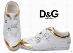 Dolce Gabbana Manniskan RG12Skor Kom Ners Dolce Gabbana Manniskan Con Velcro Farg Ren Vit De Lujo