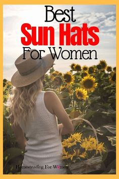 Best Sun Hats For Women. Find that perfect hat for your garden this year. Best Sun Hats For Women. Find that perfect hat for your garden this year. Indoor Gardening Supplies, Container Gardening, Sun Hats For Women, Hats For Men, Gardening For Beginners, Gardening Tips, Gardening Vegetables, Garden Catalogs, Summer Plants