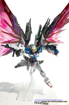 Painted Build: DM 1/100 Destiny Gundam MB ver. - Gundam Kits Collection News and Reviews
