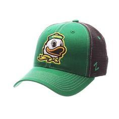 1a4ef3a568c University of Oregon Ducks Zephyr Staple Trucker Hat