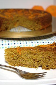 Cinco Quartos de Laranja: Bolo de courgette com cenoura e laranja