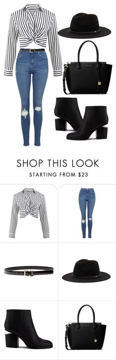 """Untitled #270"" by rexhepnuhiji ❤ liked on Polyvore featuring T By Alexander Wang, Topshop, Yves Saint Laurent, Alexander Wang and MICHAEL Michael Kors"