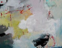 Longing for a Touch Kerri Blackman https://www.etsy.com/listing/222044953/original-abstract-expressionist-artwork?ref=shop_home_active_7 #acrylic painting, #muted colors, #interior decorating, #home #office
