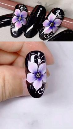 Nail Art Designs Videos, Nail Design Video, Nail Art Videos, Nails Design, Nail Art Tutorials, Design Design, Nail Art Hacks, Nail Art Diy, Easy Nail Art