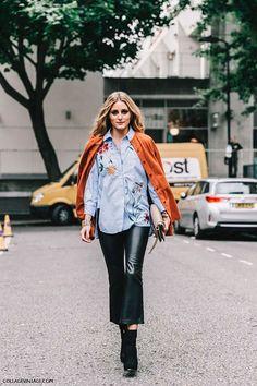 Cómo Usar Pantalones De Cuero Como Toda Una It Girl Este Invierno   Cut & Paste – Blog de Moda