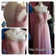 Mac Duggal Ice Pink