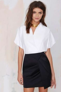Cameo Blessed Pencil Skirt | Shop What's New at Nasty Gal