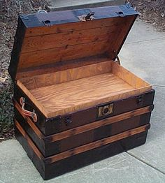 Image result for how to make a storage trunk