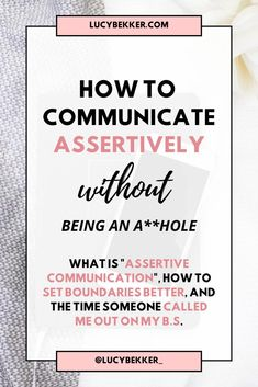 Assertive Communication, Communication Development, Effective Communication Skills, Self Development, Relationship Therapy, Communication Relationship, Confidence Tips, Confidence Coaching, Over Thinking Quotes