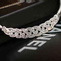 Braided Silver Necklace