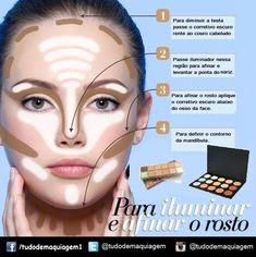 44 Ideas Makeup Contour Tutorial Step By Step Make Up For 2020 Makeup 101, Love Makeup, Makeup Inspo, Makeup Inspiration, Makeup Looks, Makeup Primer, Makeup Style, Beauty And More, Beauty Make-up