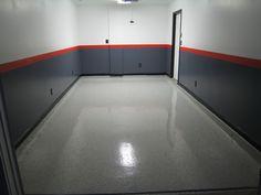Garage wall color