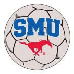 Ncaa Southern Methodist University Cream (Ivory) 2 ft. 3 in. x 2 ft. 3 in. Round Accent Rug