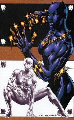 Black Panther Superhero | In the aftermath of Infinity When T'challa's meetings with Namor ...