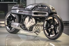 """Fred """"Krugger"""" Bertrand, owner of Krugger Motorcycles and on the short list of the best motorcycle builders in the world, has hatched something crazy and b"""