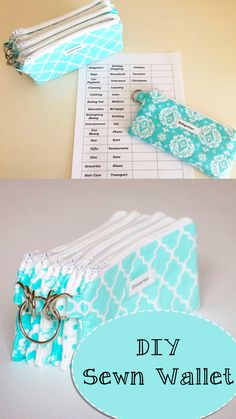 Make a Cash Envelope System yourself and save money! Diy Cash Envelope Wallet, Envelope Budget System, Cash Envelope System, Diy Wallet, Cash Wallet, Budget Envelopes, Money Envelopes, Dave Ramsey, Agenda