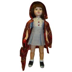 """19.5 In. Effanbee Composition Closed Mouth, Glass Eye """"American Children"""" Doll, a Dewees Cochran Design"""